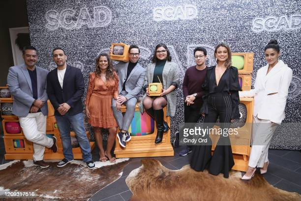 Carlos Gómez, Victor Rasuk, Lisa Vidal, Dan Bucatinsky, Belissa Escobedo, David Del Rio, Nathalie Kelley and Michelle Veintimilla attend The Baker &...