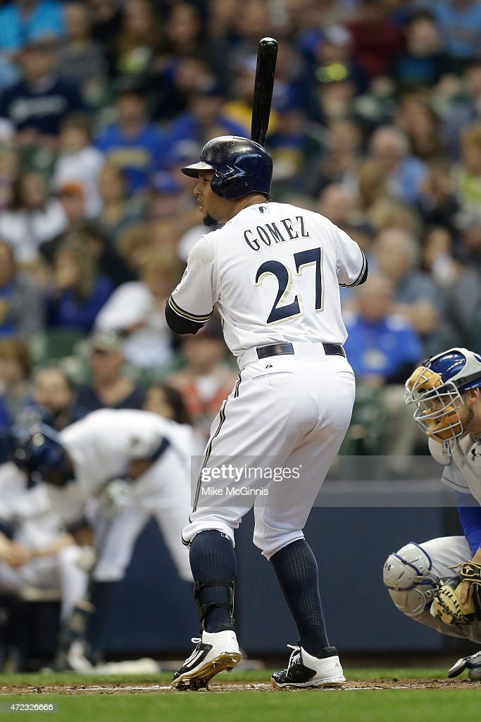 Los Angeles Dodgers v Milwaukee Brewers : News Photo