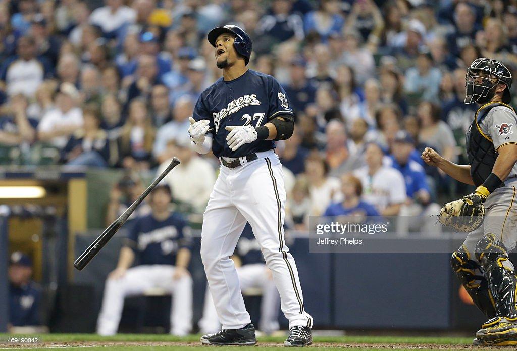 Pittsburgh Pirates v Milwaukee Brewers : News Photo