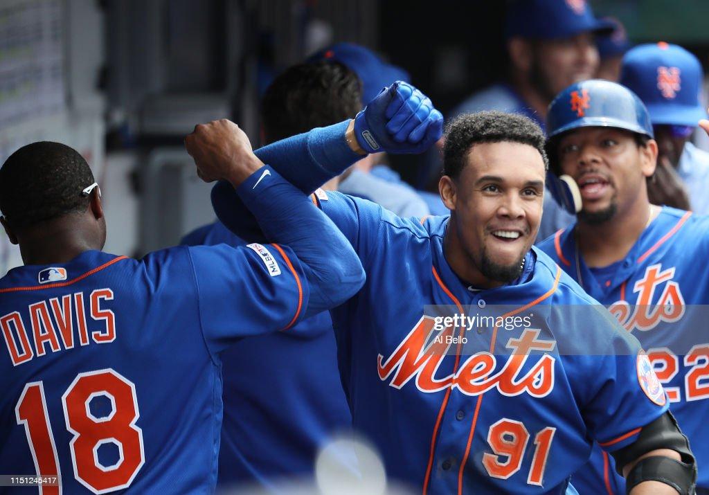 NY: Washington Nationals  v New York Mets