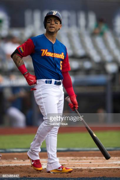 Carlos Gonzalez of Team Venezuela bats Game 3 of Pool D of the 2017 World Baseball Classic against Team Italy on Saturday March 11 2017 at Estadio...