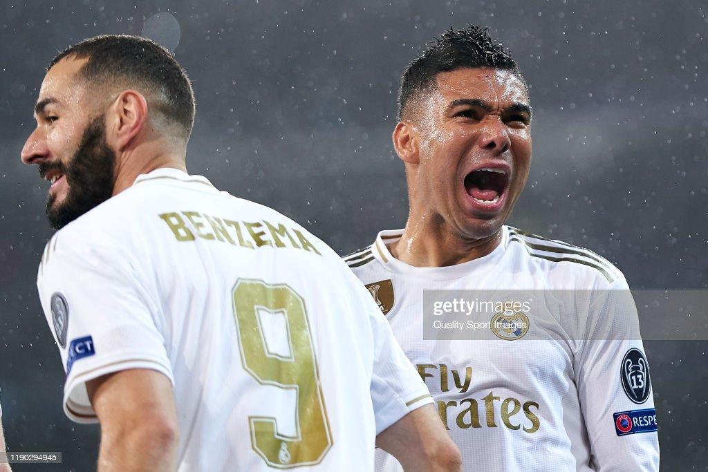 Real Madrid v Paris Saint-Germain: Group A - UEFA Champions League : News Photo