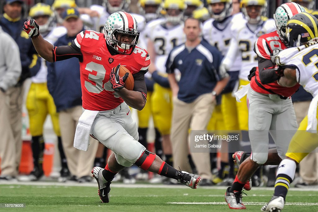 Michigan v Ohio State : News Photo