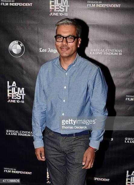 Carlos Islam attends the UN Panel during the 2015 Los Angeles Film Festival at Regal Cinemas LA Live on June 14 2015 in Los Angeles California