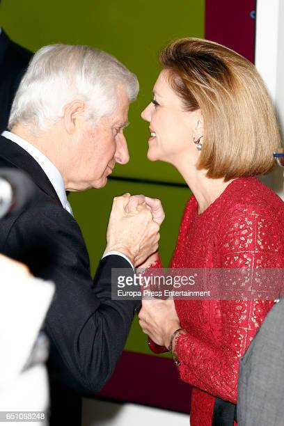 Carlos Juan FitzJamesStuart and Maria Dolores de Cospedal attend IX ABC Bullfighting Award at Casa de ABC on March 9 2017 in Madrid Spain