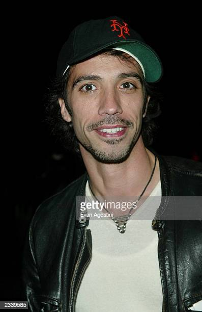Carlos Leon attends an IFC Productions party at the Diesel StyleLab May 8 2003 in New York City