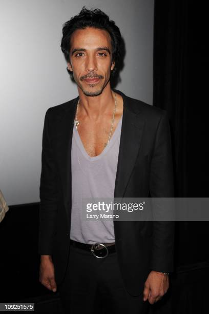 Carlos Leon attends the Miami screening of Immigration Tango at AMC Sunset Place on February 17 2011 in Miami Florida