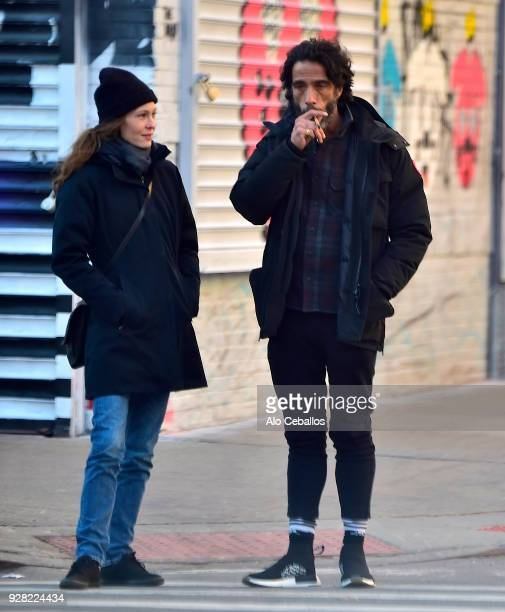 Carlos Leon is seen in Nolita on March 6 2018 in New York City
