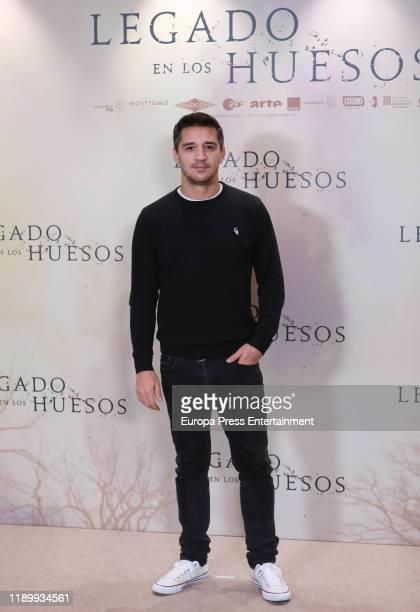 Carlos Librado attends the 'Legado en los huesos' photocall at Hotel Urso on November 25 2019 in Madrid Spain