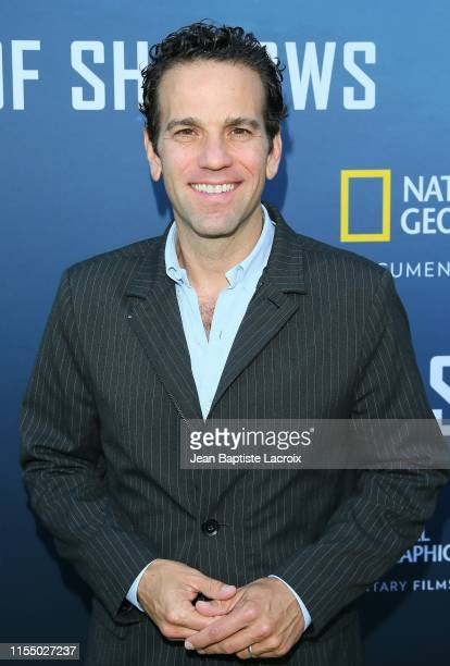 """Carlos Loret De Mola attends the National Geographic Documentary Films' premiere of """"Sea of Shadows"""" at NeueHouse Los Angeles on July 10, 2019 in..."""