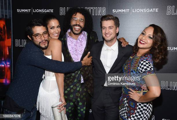Carlos López Estrada Janina Gavankar Daveed Diggs Rafael Casal Jasmine Cephas Jones Keith Calder and Jess Calder attend the screening of...