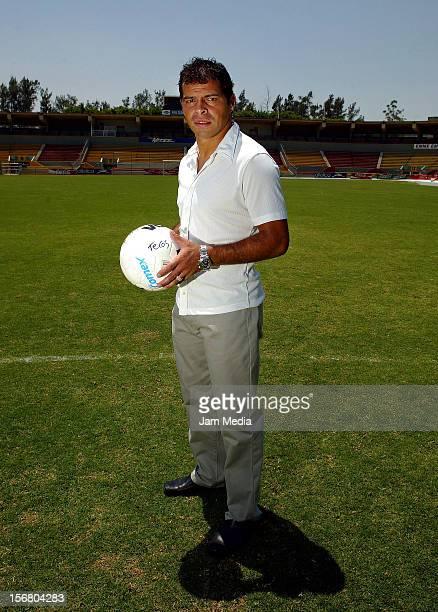 Carlos Maria Morales poses during a photo shoot on April 14, 2005 in Zapopan, Mexico.