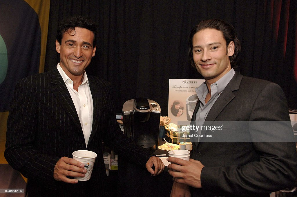 Opera singer Carlos Marin of Il Divo poses for photos
