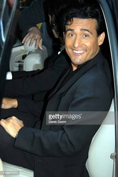 """Carlos Marin of Il Divo during Simon Cowell and Il Divo Visit the """"Today"""" Show - April 18, 2005 at The """"Today"""" Show Studio in New York City, New..."""