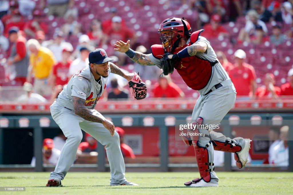 St Louis Cardinals  v Cincinnati Reds : News Photo