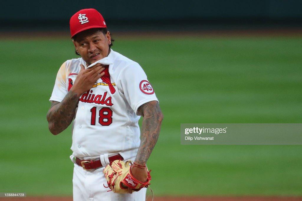 Cleveland Indians v St Louis Cardinals : News Photo
