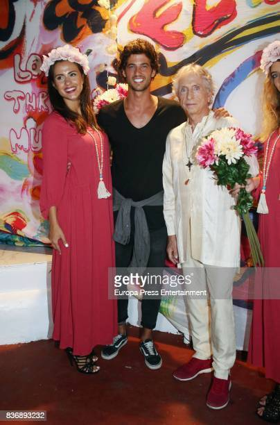 Carlos Martorell and Jorge Brazalez attend Flower Power Party on August 21 2017 in Ibiza Spain