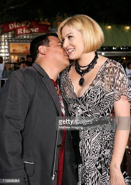 Carlos Mencia and Amy Mencia at the premiere of The Heartbreak Kid at Mann's Village Theater on September 27 2007 in Westwood California