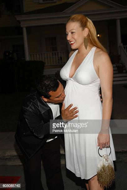 Carlos Mencia and Amy Mencia attend Tampico Beverages El Sueno de Esperanza Gala at Universal Studios on September 6, 2006 in Hollywood, CA.
