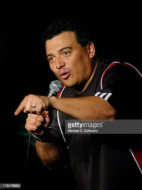 Carlos Mencia during Comedian Carlos Mencia Performs at The Ice House, 3rd. Night. At The Ice House in Pasadena, California, United States.