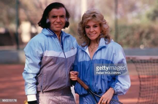 Carlos Menem et son épouse Zulema Fátima Yoma dans les années 1980 en Argentine