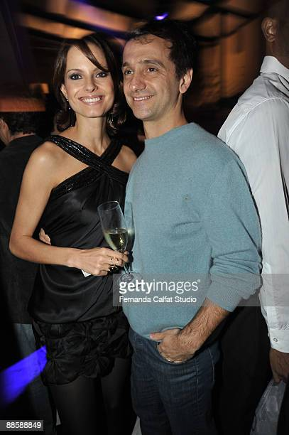 Carlos Miele attends the party of the Yves Saint Laurent fragrance La Nuit de L'Homme on June 20 2009 in Sao Paulo Brazil