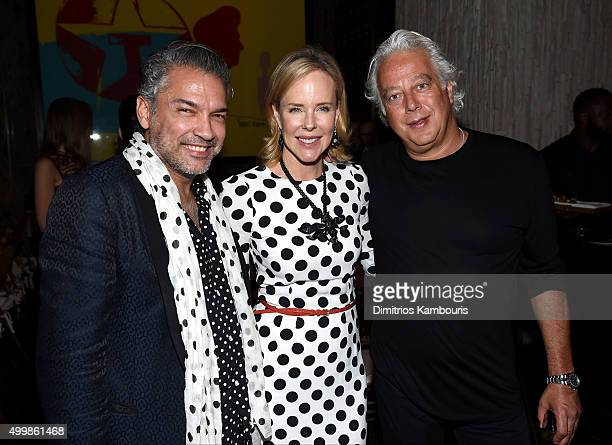 Carlos Mota Aby Rosen and guest attend Aby Rosen and Samantha Boardman host their Annual Dinner at The Dutch W Hotel South Beach on December 3 2015...