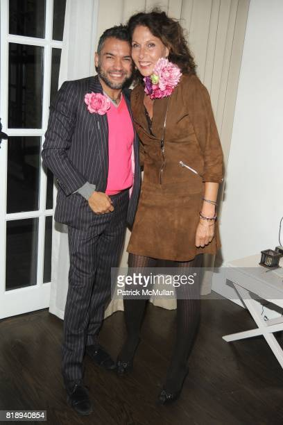 Carlos Mota and Jacqueline Schnabel attend THE MERCER Hosts Party to Celebrate CARLOS MOTA's New Book FLOWERS Chic Cheap at The Mercer on May 11th...
