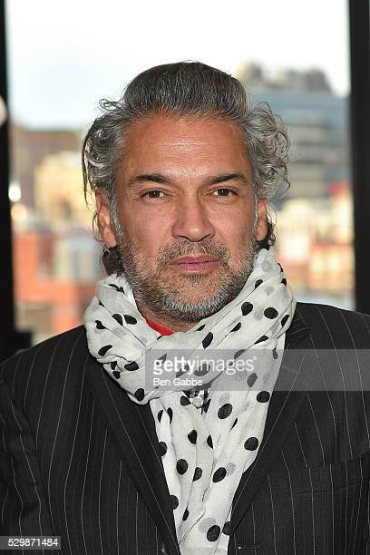 Carlos Mota attends the Jeff Koons x Google launch on May 09 2016 in New York New York