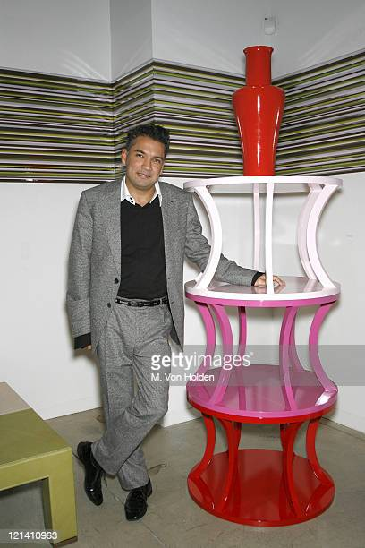 Carlos Mota, Carlos Mota Design during The Launch of Carlos Mota for Villency Atelier Hosted by Eric Villency and Margaret Russell - November 15,...