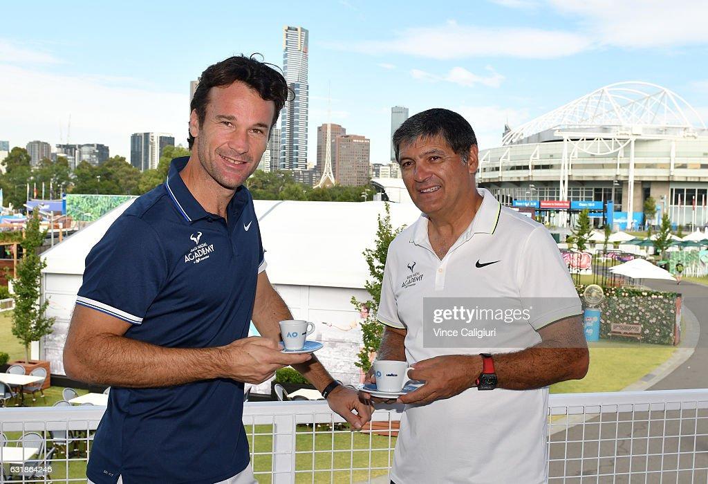 Off Court At The 2017 Australian Open : News Photo