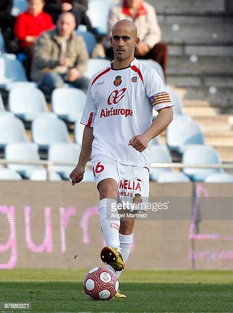 Carlos Nunes of Mallorca in action during the La Liga match between Getafe and Mallorca at Coliseum Alfonso Perez on March 13 2010 in Getafe Spain...
