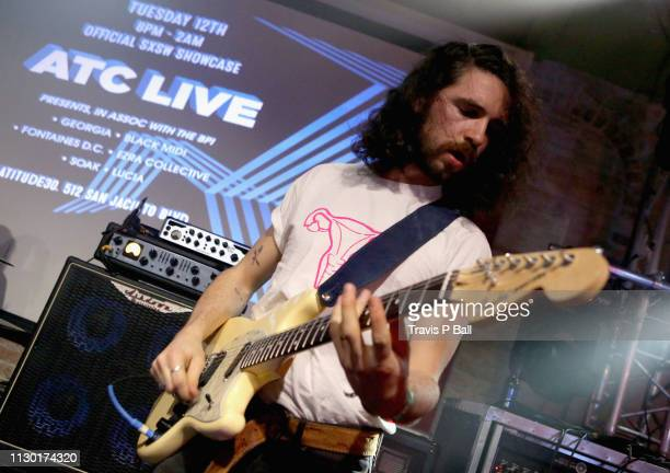 Carlos O'Connell of Fontaines D.C. Performs onstage at ATC during the 2019 SXSW Conference and Festivals at Latitude 30 on March 12, 2019 in Austin,...