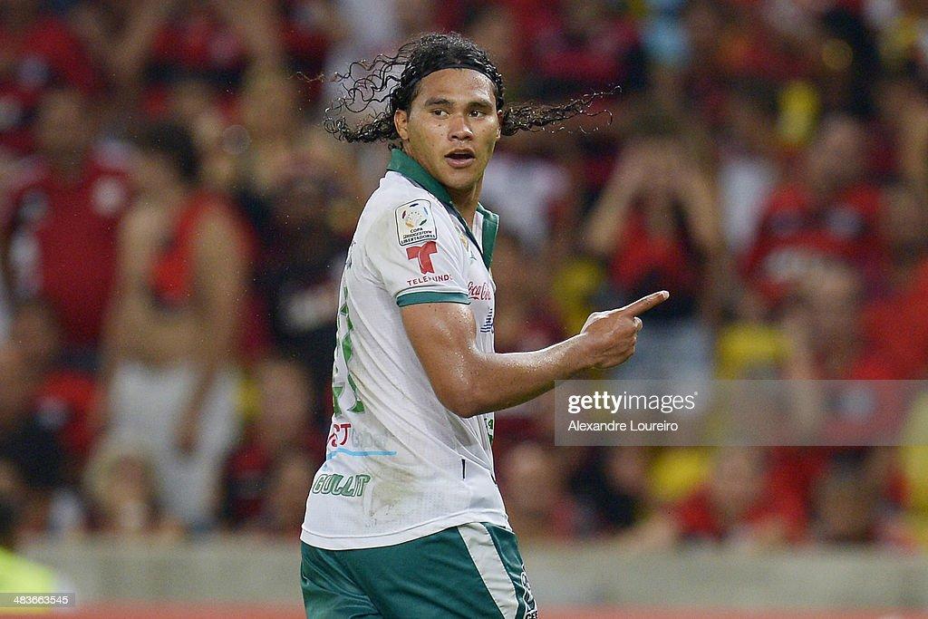 Flamengo v Leon - Copa Bridgestone Libertadores 2014