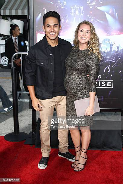 Carlos PenaVega and Alexa PenaVega attend the premiere of Pure Flix Entertainment's Hillsong Let Hope Rise held at Mann Village Theatre on September...