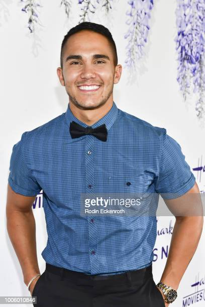 Carlos PenaVega attends the 2018 Hallmark Channel Summer TCA at a private residence on July 26 2018 in Beverly Hills California