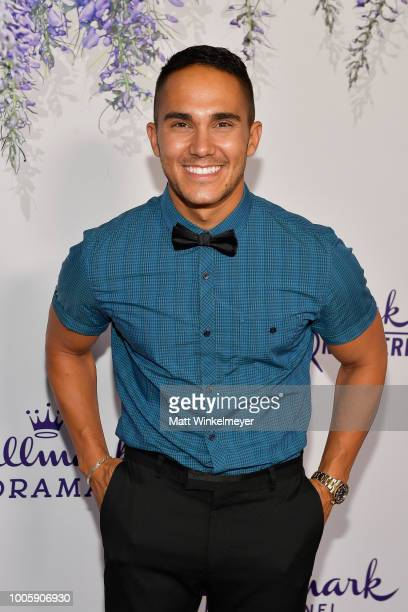Carlos PenaVega attends the 2018 Hallmark Channel Summer TCA at Private Residence on July 26 2018 in Beverly Hills California