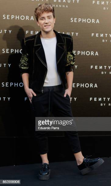 Carlos Perez Marco attends the Fenty Beauty photocall at Callao cinema on September 23 2017 in Madrid Spain