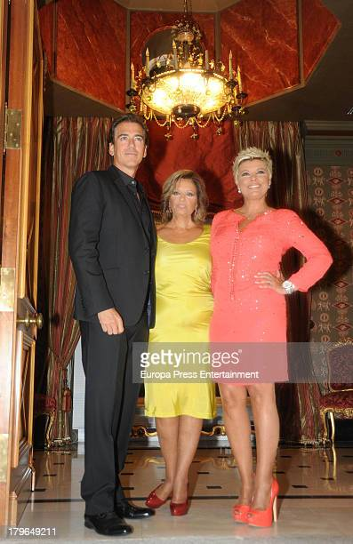 Carlos Pombo and Maria Teresa Campos attend Terelu Campos's 48th birthday party on September 5 2013 in Madrid Spain
