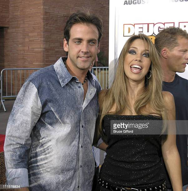 Carlos Ponce and wife Veronica during 'Deuce Bigalow European Gigolo' Las Vegas Premiere at Palms Casino Resort in Las Vegas Nevada United States