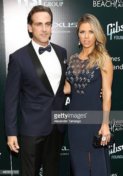 Carlos Ponce and Ximena Duque are seen arriving at the Latin Songwriters Hall of Fame La Musa Awards at The Fillmore Miami Beach at Jackie Gleason...