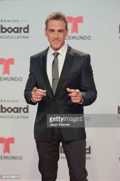 Carlos Ponce attends the Billboard Latin Music Awards at Watsco Center on April 27 2017 in Miami Florida