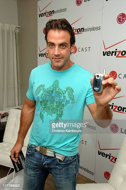 Carlos Ponce during 2005 MTV VMA Verizon Wireless V CAST Suite Day 1 at Style Villa at the Sagamore Hotel in Miami Florida United States