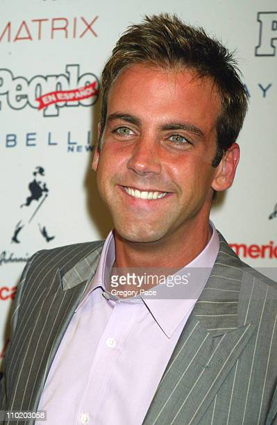 Carlos Ponce during 3rd Annual People En Espanol's '50 Most Beautiful' Gala Arrivals at Splashlight Studios in New York City New York United States