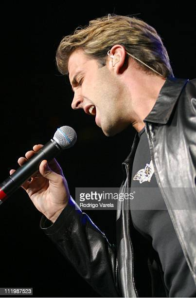 Carlos Ponce during 'Amor a la Musica' Concert in Miami at American Airlines Arena in Miami Florida United States