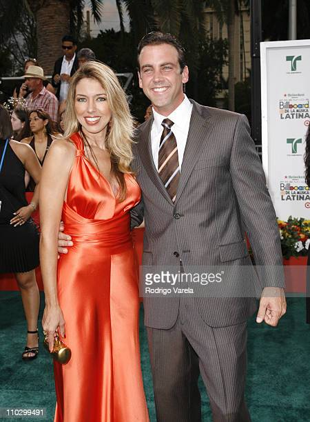 Carlos Ponce during Billboard Latin Music Conference and Awards 2007 Arrivals at Bank United Center in Coral Gables Florida United States