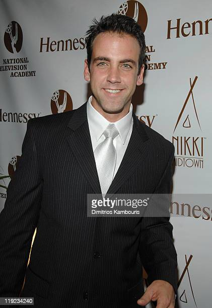 Carlos Ponce during Hennessy Official After Party for the Latin Emmy's at Nikki Midtown in New York City New York United States