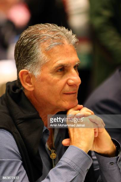 Carlos Queiroz attends the team seminar before Final Draw for the 2018 FIFA World Cup Russia on November 30 2017 in Moscow Russia