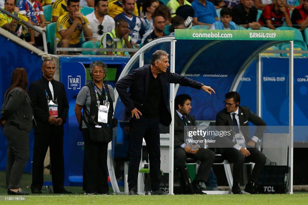 Argentina v Colombia: Group B - Copa America Brazil 2019 : ニュース写真