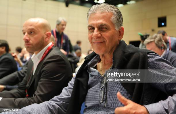 Carlos Queiroz head coach of Iran looks on during the team seminar before Final Draw for the 2018 FIFA World Cup Russia on November 30 2017 in Moscow...